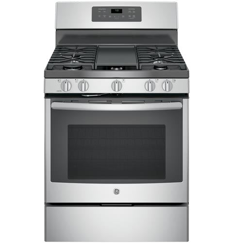 "GE 30"" Free-Standing Gas Convection Range"