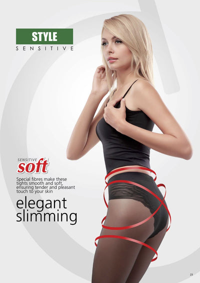 Lace panties modelling slimming tights pantyhose Conte Elegant Style