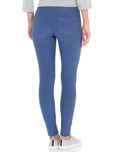 Leggings with skinny jeans look - jeggings - rear part