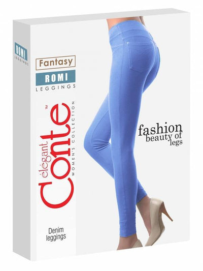 leggings cotton sport denim Romi by Conte Elegant leggings for women