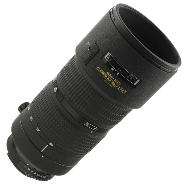 Nikon AF Nikkor 80-200mm 2.8 D Lens Two-Ring Version