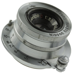 Nikon Nikkor 35mm 3.5 Lens Leica Screw Mount 910xxxx