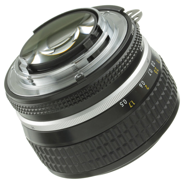 Nikon Nikkor 50mm 1.2 Ai-S Lens Boxed Late Serial Mint Condition