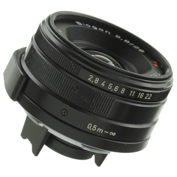 Black Contax 28mm 2.8 Lens for G1, G2 Cameras