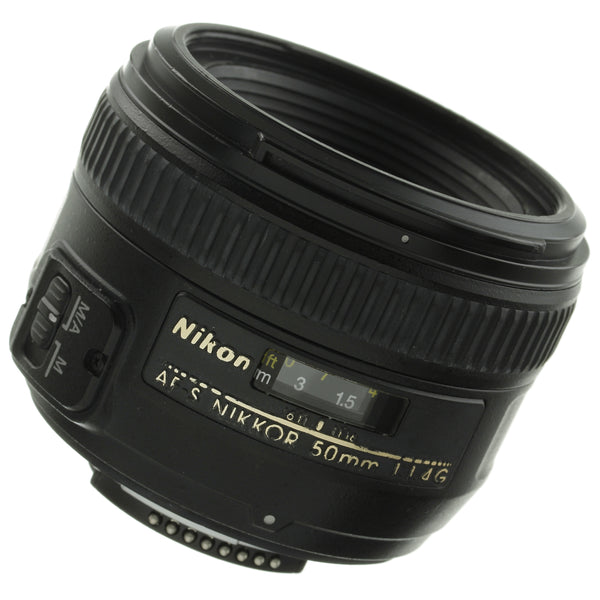 Nikon AF-S Nikkor 50mm 1.4 G Lens US Model