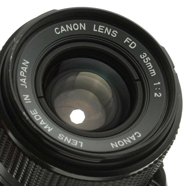 Canon FD 35mm F2 Lens
