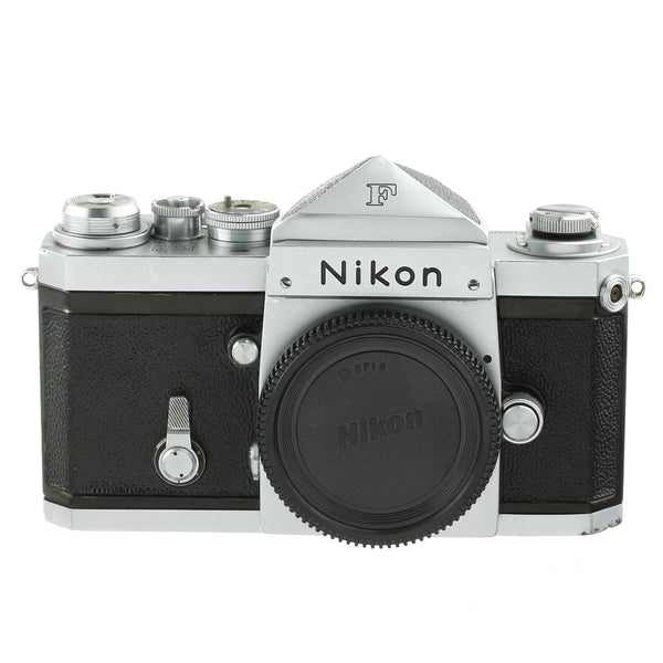 Nikon F Early Camera Body 64 with Type 1 Finder Triangular Pins