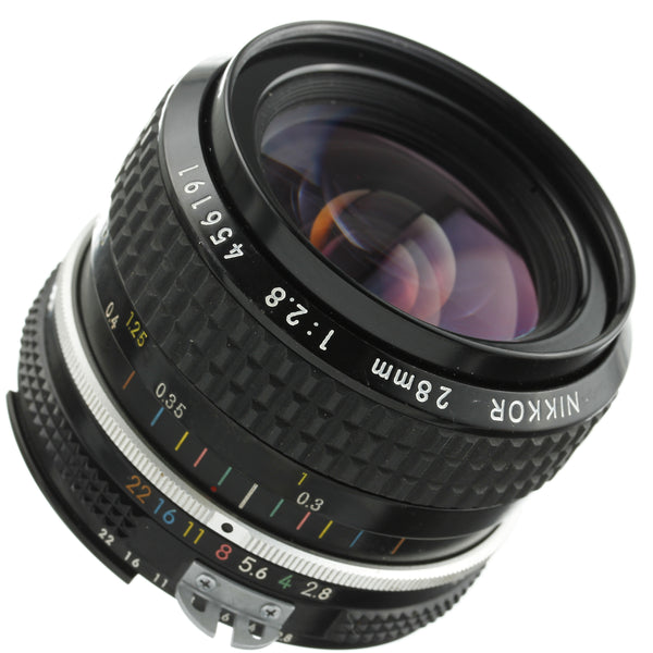Nikon Nikkor 28mm 2.8 Ai Lens Beautiful Condition