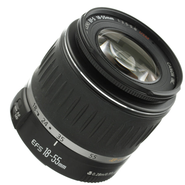 Canon EF-S 18-55mm 3.5-5.6 Lens Beautiful Condition
