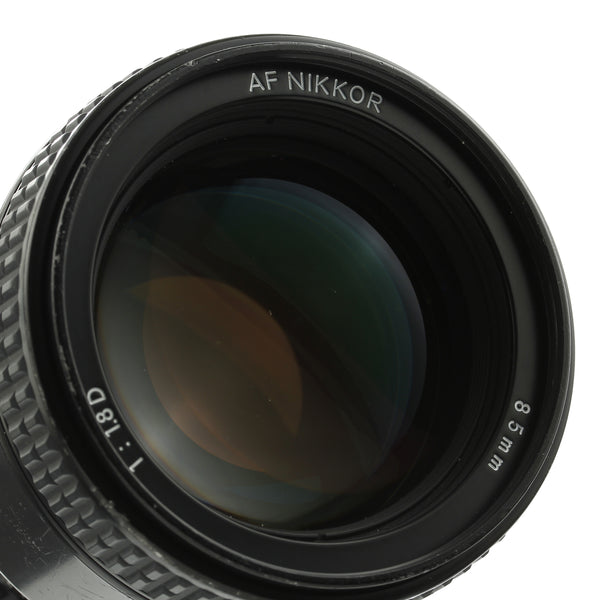 Nikon AF Nikkor 85mm 1.8 D Lens US Model