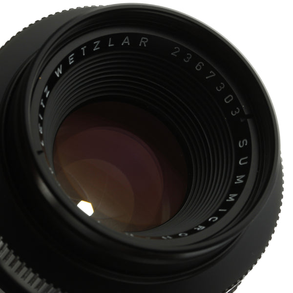 Leica Summicron-R 50mm F2 Lens 2-Cam Beautiful Condition