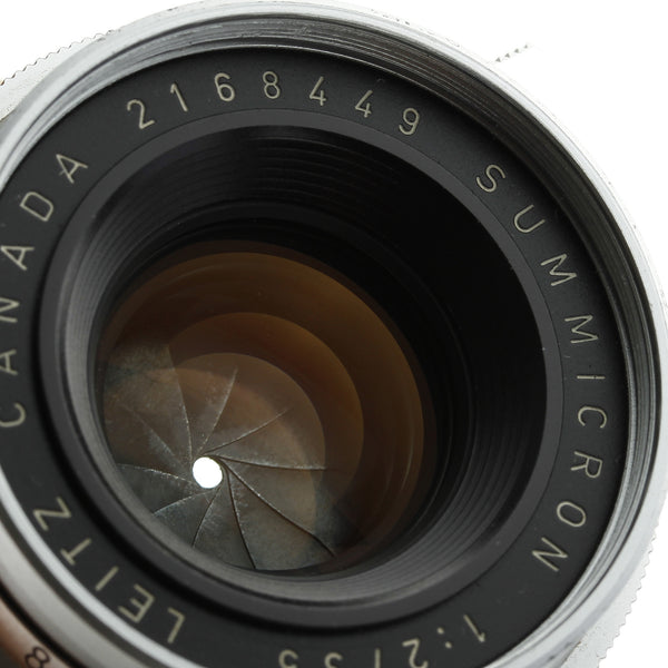 Leica Summicron 35mm F2 Lens 8-Element M2 Version Beautiful Condition