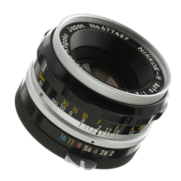 Nikon Nikkor-H 50mm F2 Non-Ai Lens Beautiful Condition