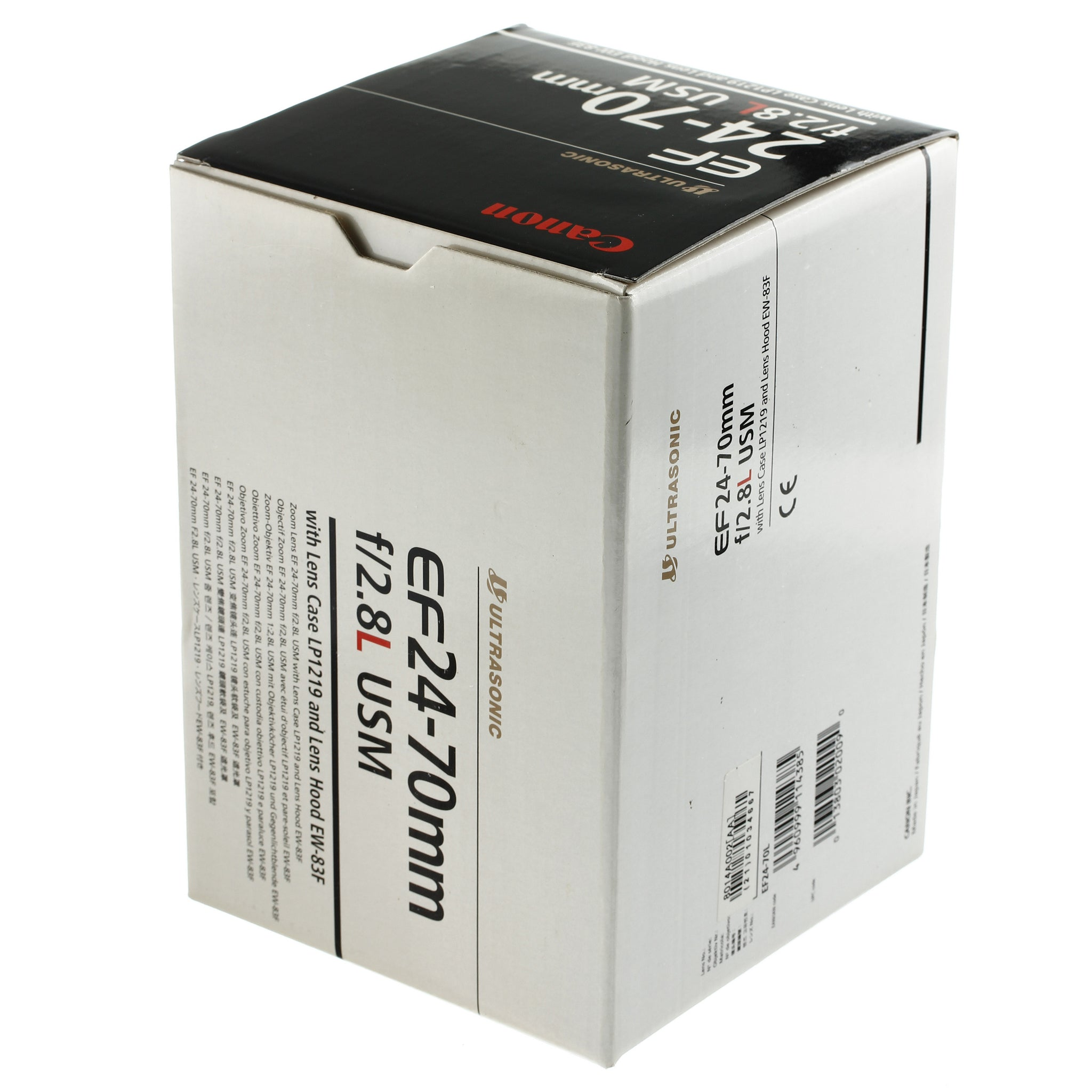 Canon EF 24-70mm 2.8 L Lens Boxed