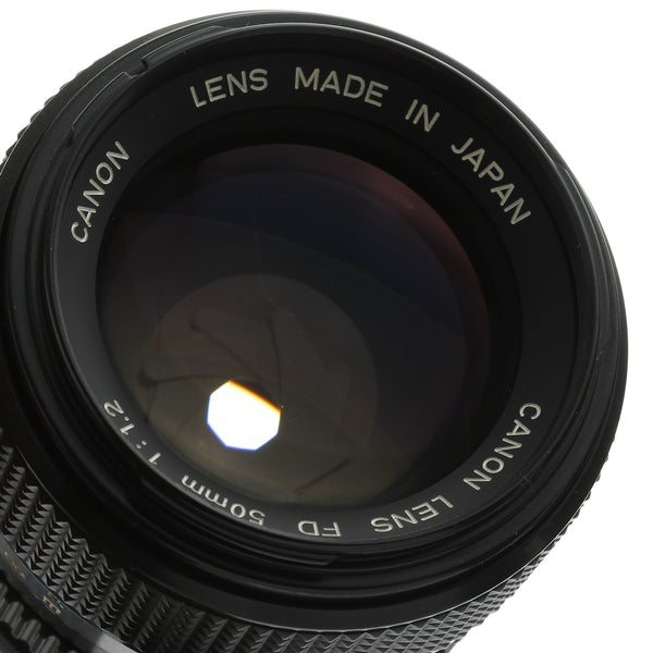 Canon FD 50mm 1.2 Lens Near Mint Condition