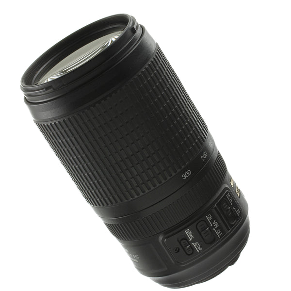 Nikon AF-S Nikkor 70-300mm 4.5-5.6 VR Lens US Model