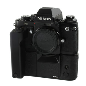 Nikon F3HP Film Camera Body with MD-4 Motor Drive