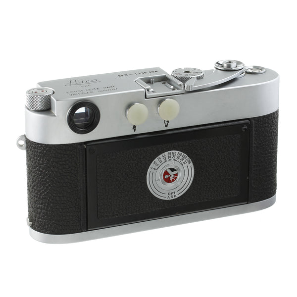 Leica M3 Single Stroke Rangefinder Camera Body High Serial L-Seal Intact