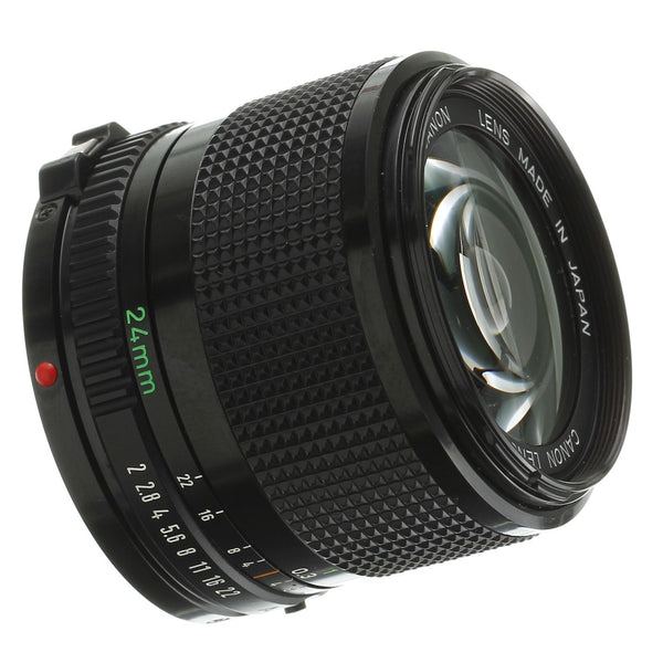 Canon FD 24mm F2 Lens Mint Condition