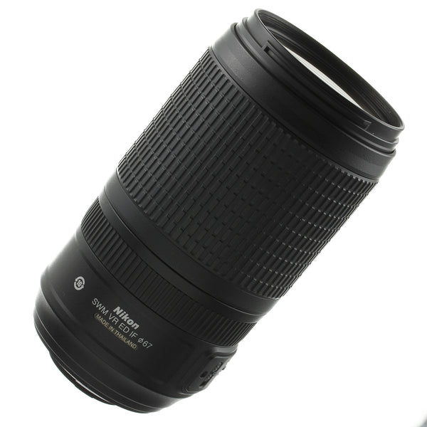 Nikon AF-S Nikkor 70-300mm 4.5-5.6 VR Lens US Model Mint Condition