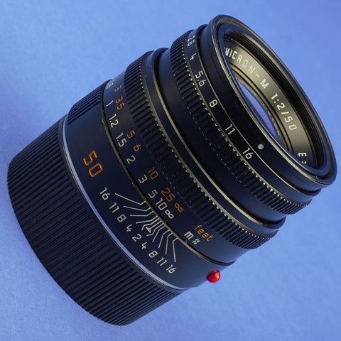Leica Summicron-M 50mm F2 Lens 6 Bit Coded Late Serial