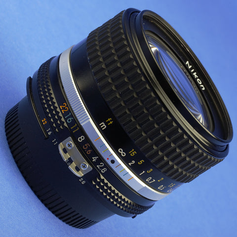 Nikon Nikkor 28mm 2.8 Ai-S Lens Mint Condition