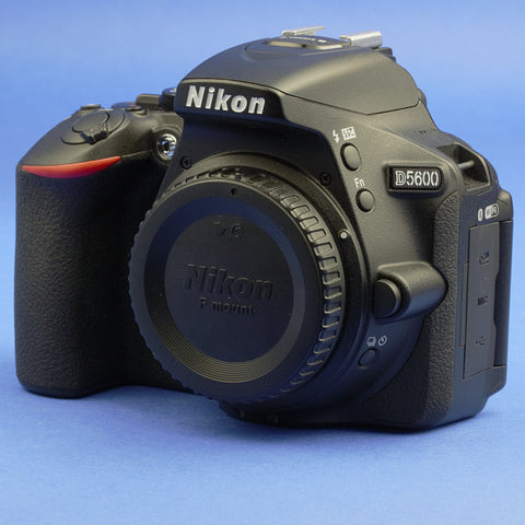 Nikon D5600 Digital Camera Body 3300 Actuations Mint Condition