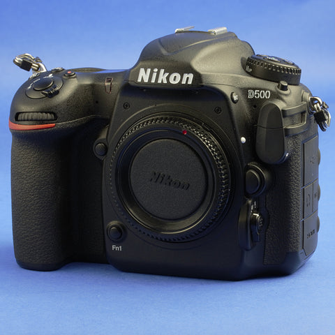 Nikon D500 Digital Camera Body 18000 Actuations Beautiful Condition