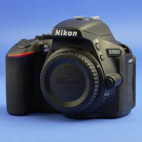 Nikon D5600 Digital Camera Body 39 Actuations Mint Condition