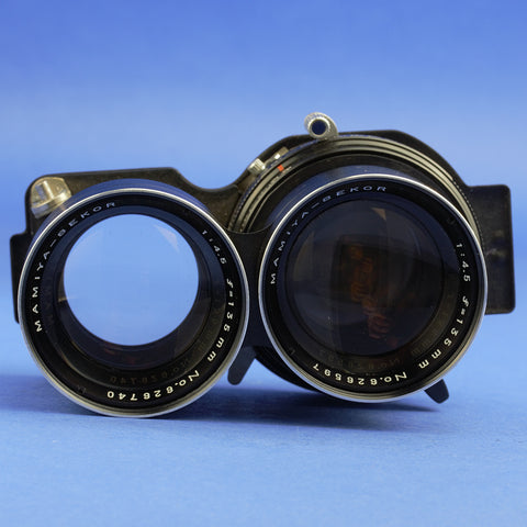 Mamiya 135mm 4.5 Blue Dot Lens for C220 C330 Cameras