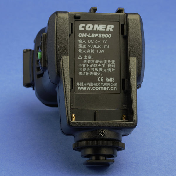 Comer CM-LBPS900 LED Light with Battery and Charger