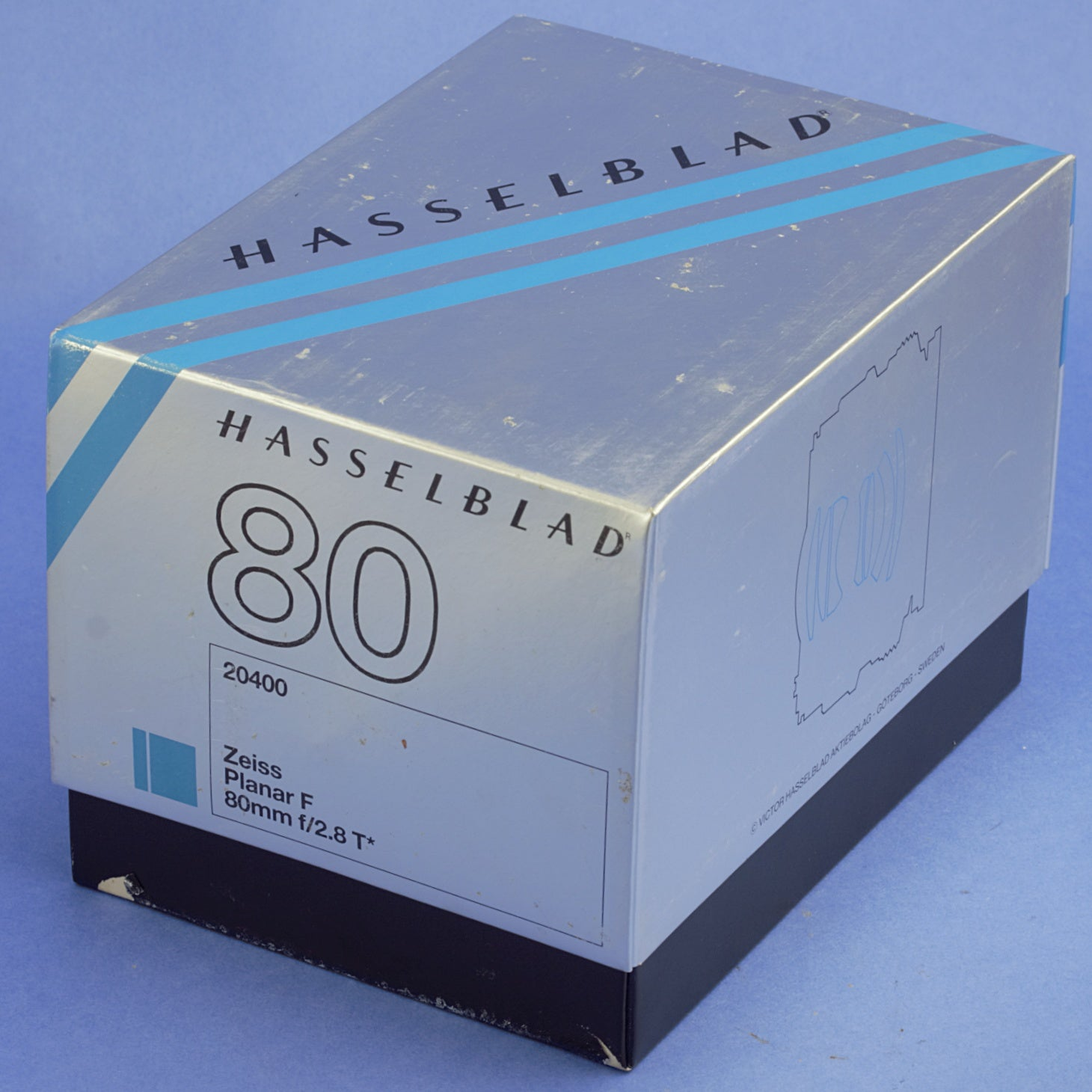 Hasselblad Planar 80mm 2.8 F Lens for 200 Series Mint Condition