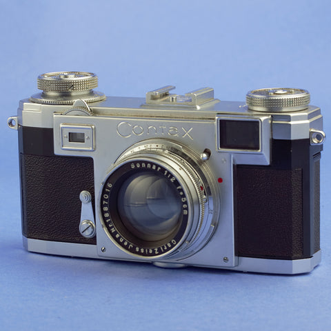 Contax IIa Film Camera with Sonnar 5cm Lens