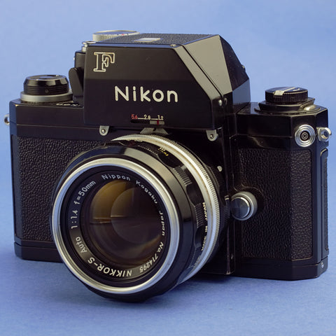 Nikon F Photomic FTN Camera with 50mm 1.4 Lens