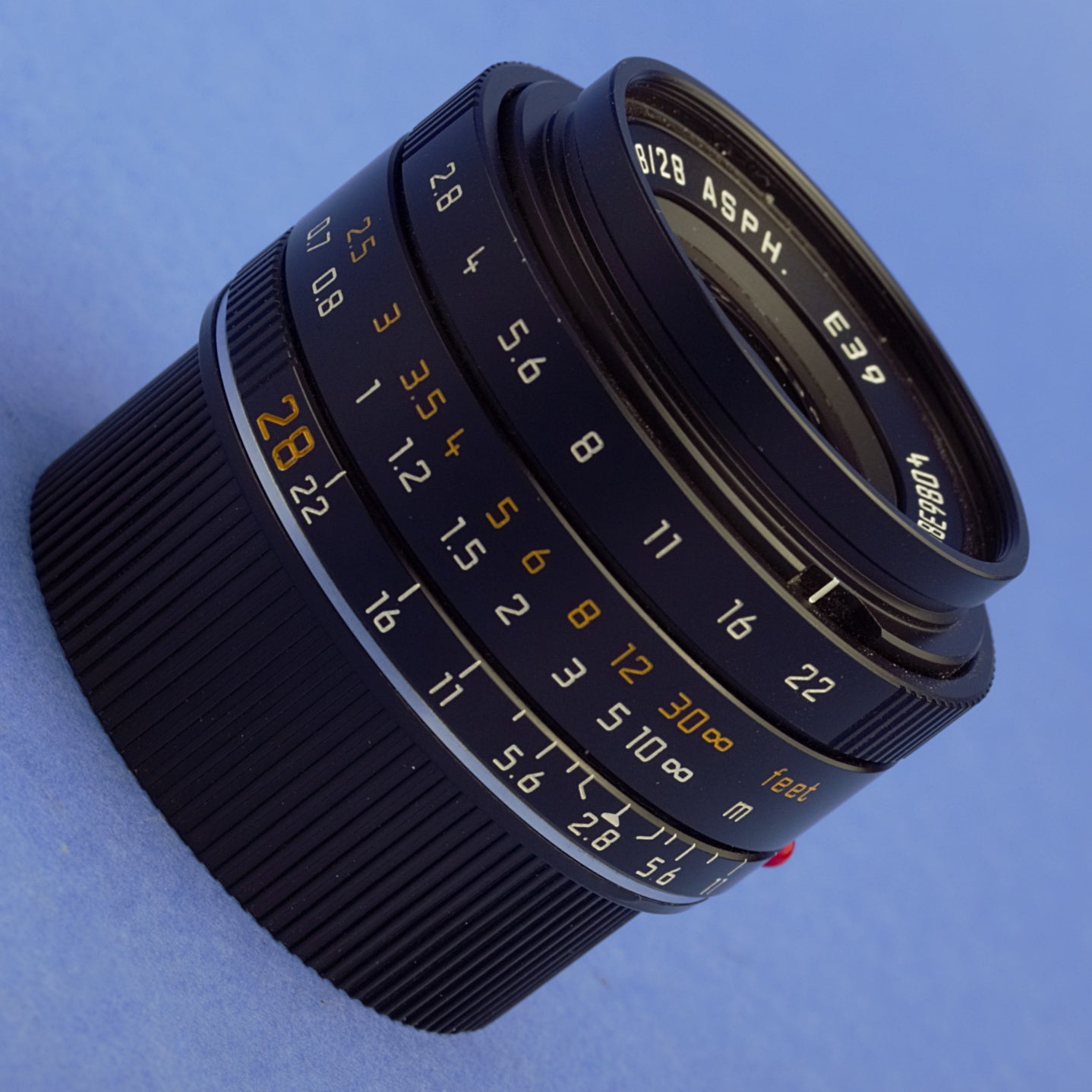 Leica Elmarit-M 28mm 2.8 ASPH Lens 6-Bit Coded
