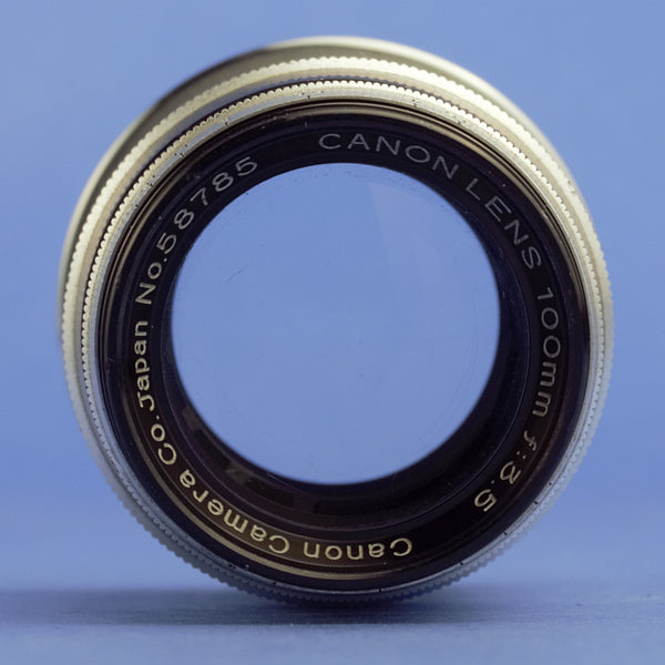 Canon 105mm 3.5 Lens Leica Screw Mount