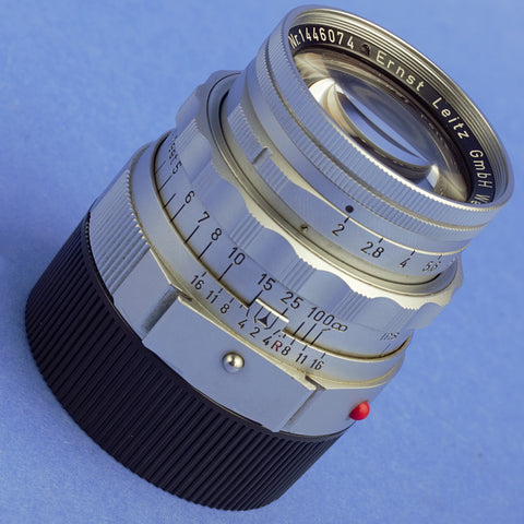 Leica Summicron 50mm F2 Dual Range Lens M Mount Beautiful Condition