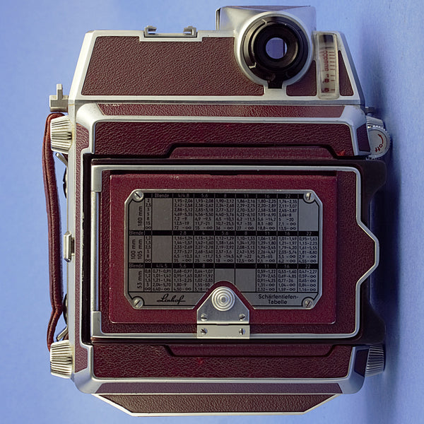 Linhof Super Technika IV B 6x9 Camera with Rodenstock Heligon 90mm 3.2 Lens