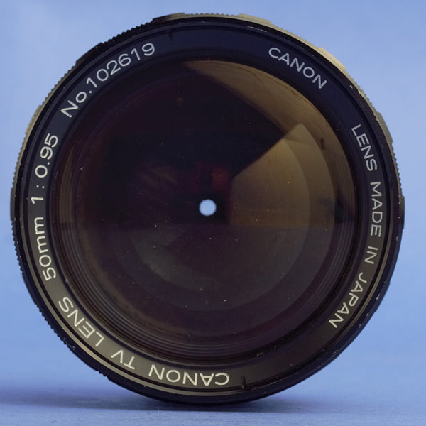 Canon 50mm 0.95 Rangefinder Lens Leica M Mount 6-Bit Coded
