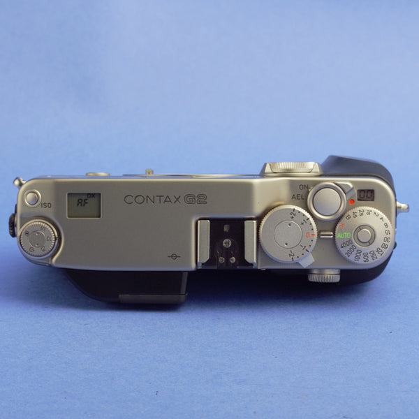 Contax G2 Film Camera Kit Beautiful Condition