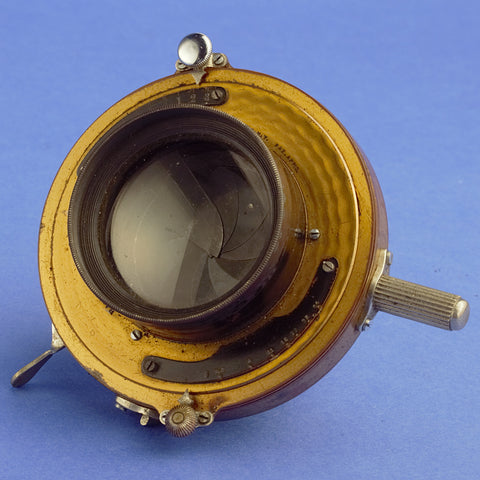 Bausch & Lomb Unmarked 5.6 Lens in Golden Volute Shutter
