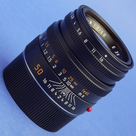 Leica Summicron-M 50mm F2 6-Bit Lens 11826 Late Serial Mint Condition