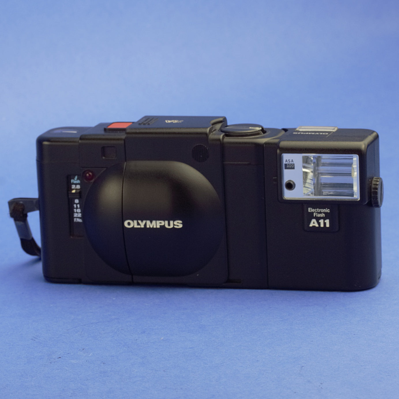Olympus XA Film Camera with A11 Flash Beautiful Condition