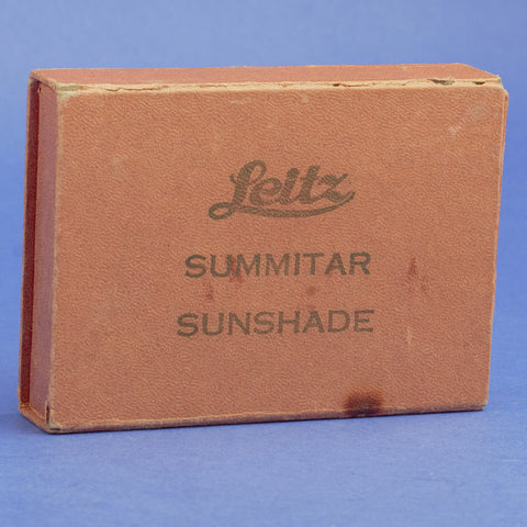 Leitz SOOFM Sunshade for Summitar And Summicron Lenses