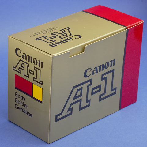 Canon A-1 Film Camera Body Beautiful Condition