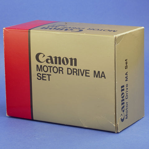 Canon Motor Drive MA Set for A-1 Cameras Beautiful Condition
