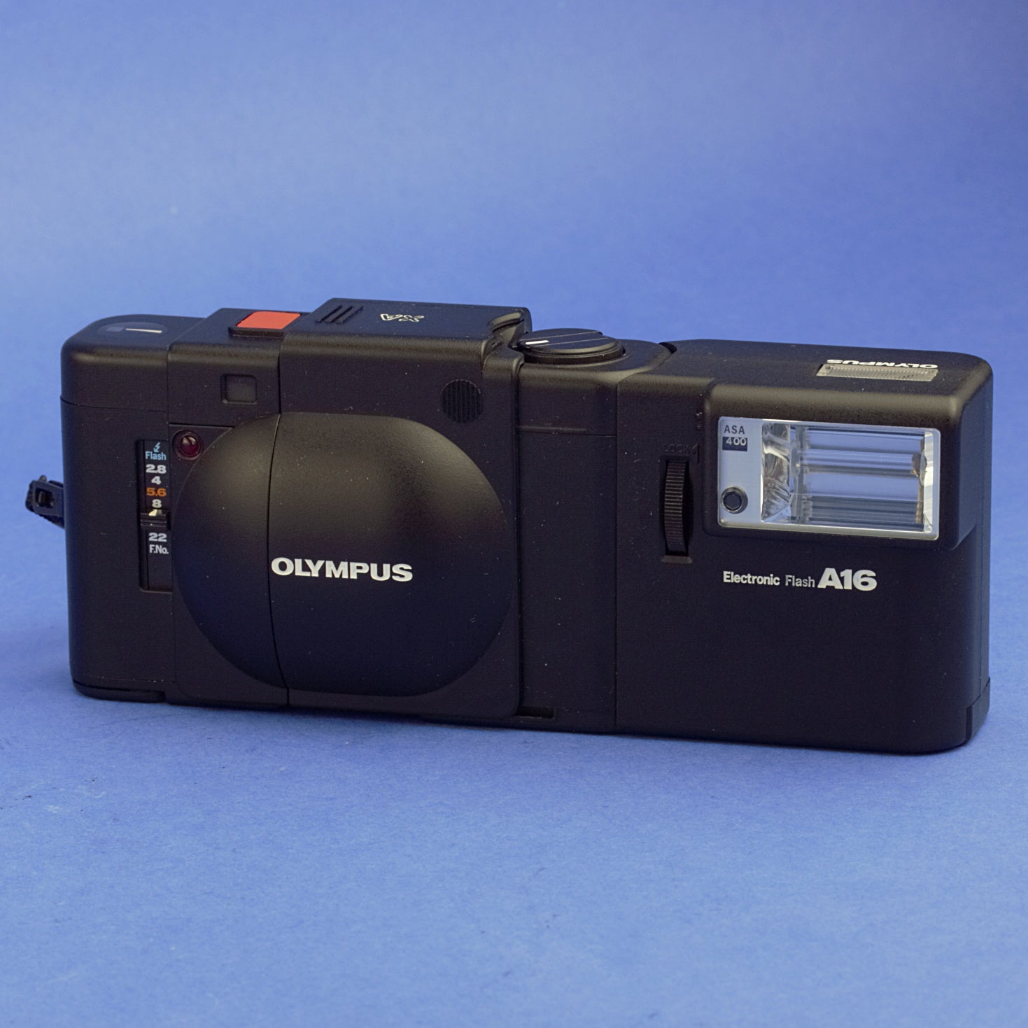 Olympus XA Film Camera with A16 Flash Mint Condition