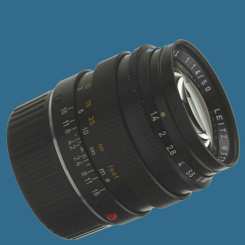 Leica Summilux 50mm 1.4 II Lens M Mount 03/2019 CLA