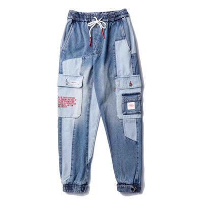 1-800 HARAJUKU DENIM PANTS