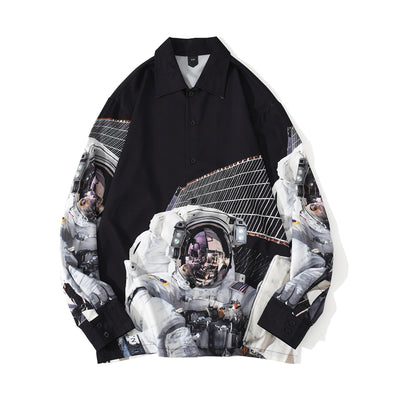 Astronaut Long Sleeve Shirt